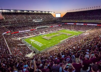 Overcoming the Challenges at Texas A&M Kyle Field due to the Changing Landscape of Always Connected Technology