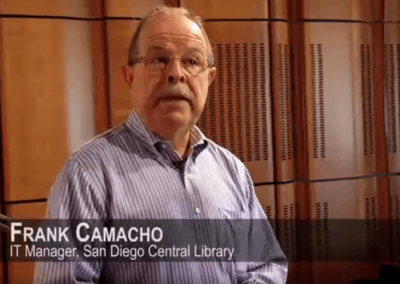 How Optical LAN Connects the San Diego Central Library