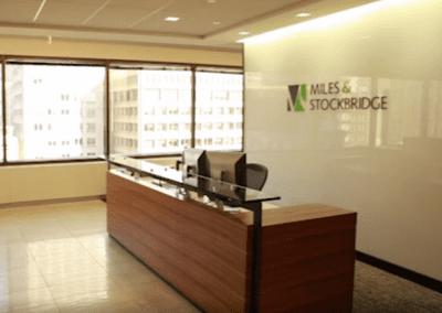 Miles & Stockbridge utilizes Optical LAN's centralized intelligence and management