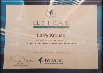Tellabs Offers Support Certification Training Classes for Veterans Transitioning from Active Duty