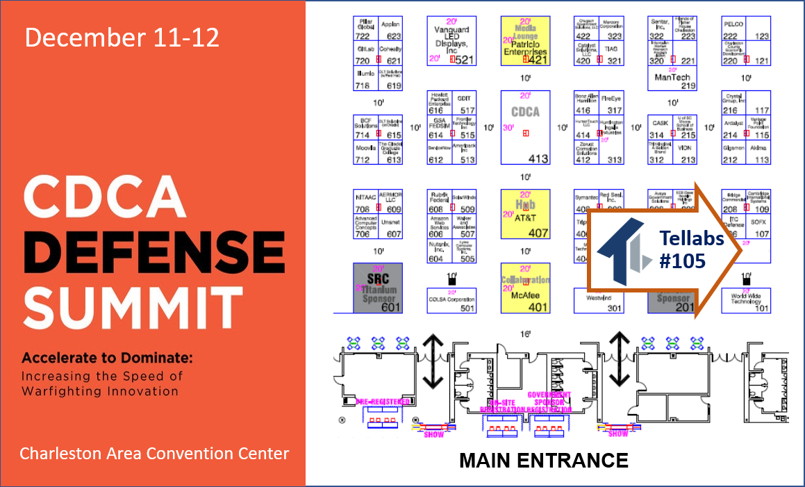 CDCA Defense Summit 2019 event map