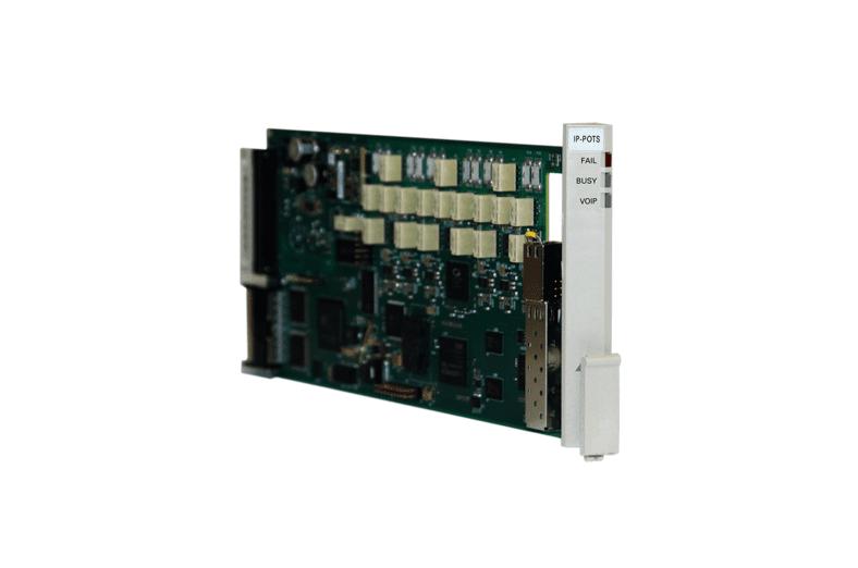 Tellabs IP-POTS VoIP plug-in card