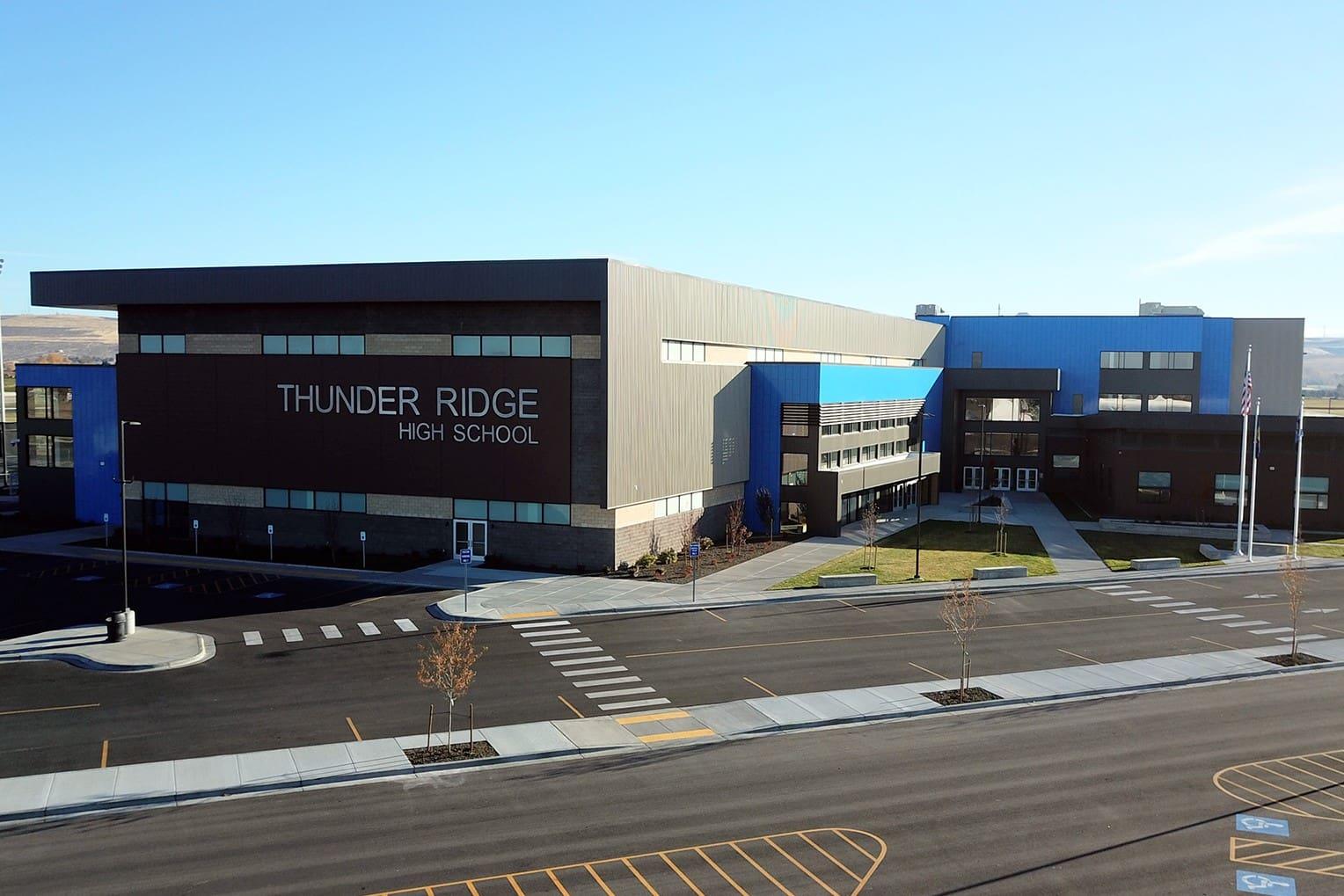 Tellabs Optical LAN at Thunder Ridge High School
