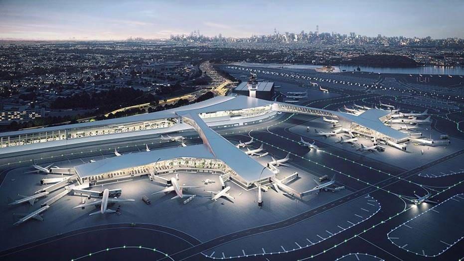 LaGuardia Airport and Passive Optical LAN