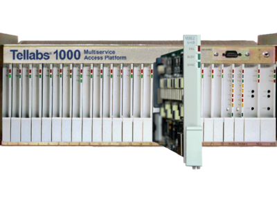 Tellabs 1000 MSAP new VDSL2 6+6B plug-in card underscores continued R&D investment