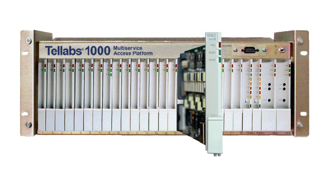 Tellabs 1000 MSAP and the new VDSL2 6+6B card