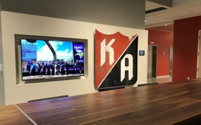 Mini Case Study Series: Optical LAN helps Kraus-Anderson new HQ overcome business challenges encountered in a modern workplace