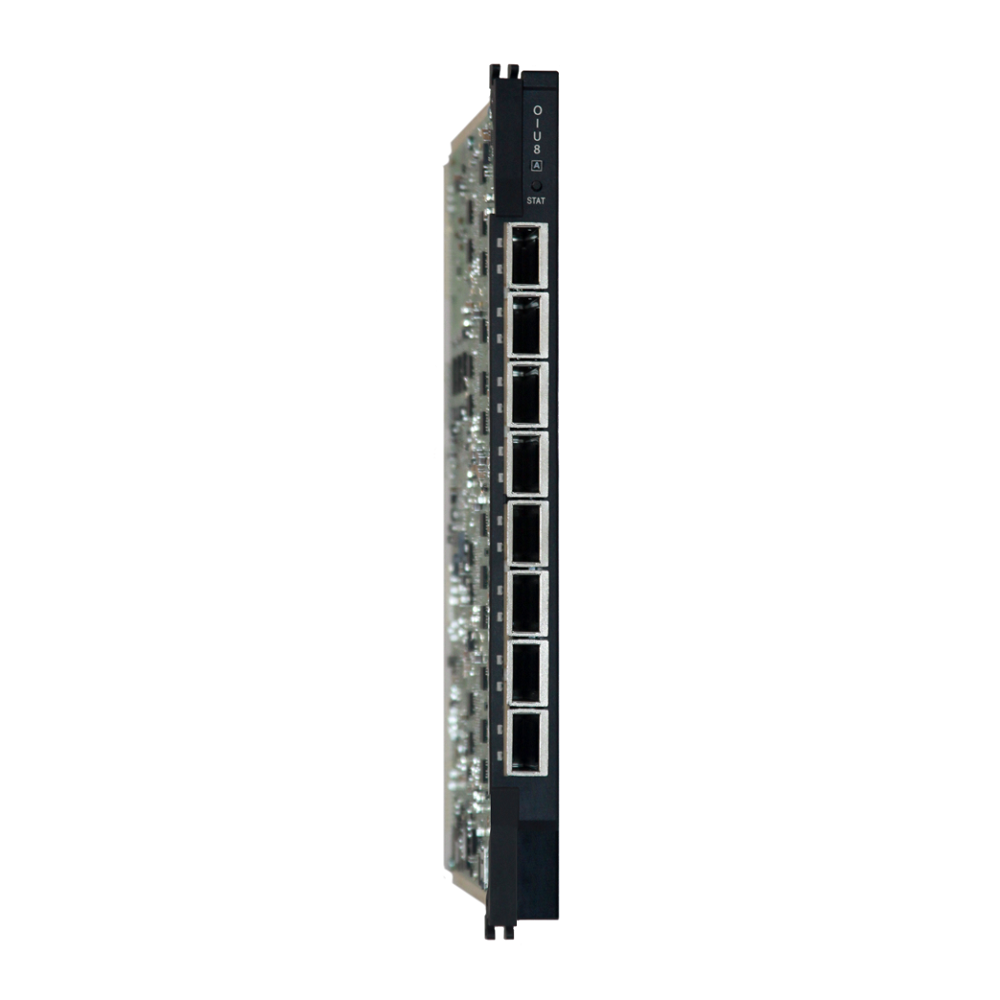 FlexSym Optical Interface Unit Eight (OIU8)